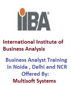 IIBA certified CBAP Training in Noida