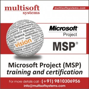 MS Project certification training