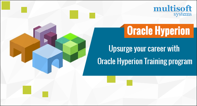 Upsurge your career with Oracle Hyperion Training program