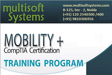 Certified CompTIA Mobility+ training in NCR