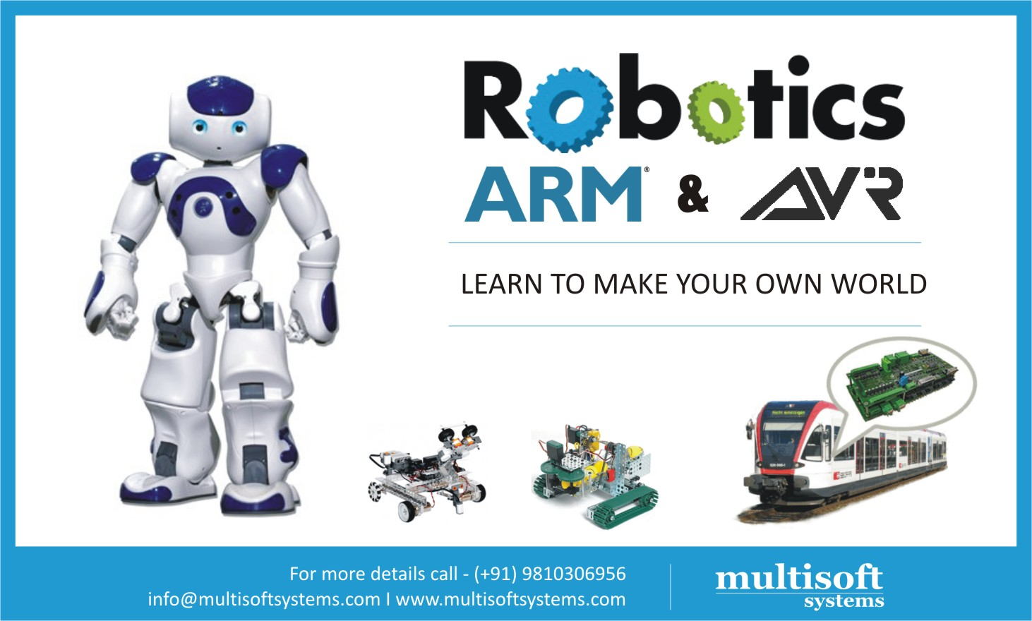 A quick glance at ARM Based Robotic Embedded Systems