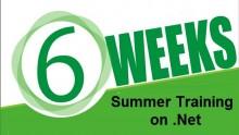6 weeks Project training on .Net