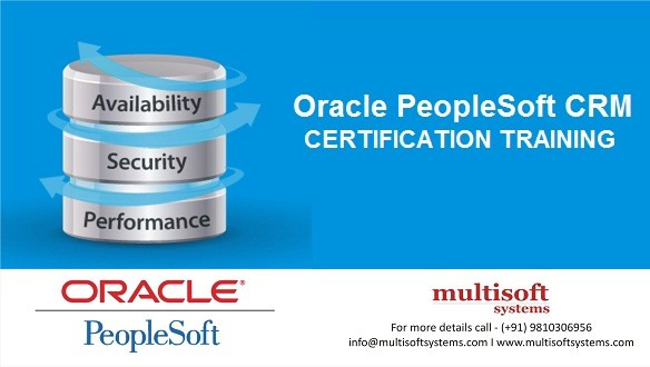 Oracle peoplesoft CRM Training