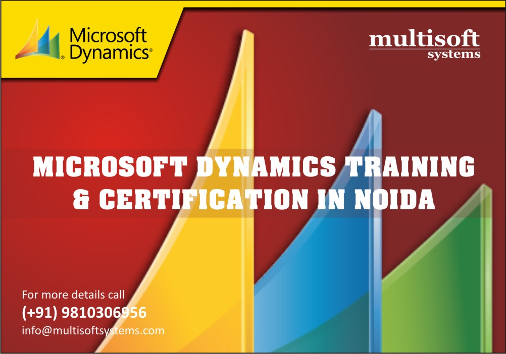 Microsoft Dynamics training & certification in Noida