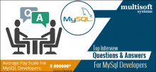 MySQL-Developer