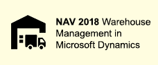 Warehouse Management in Microsoft Dynamics NAV 2018 Course Training